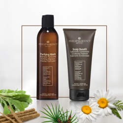 PURIFYING WASH & SCALP BENEFIT RINSE SET